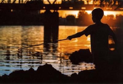 foto: Julian Barrera - Tarde de pesca