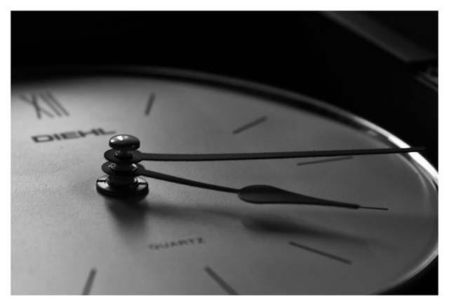 foto: Ruben Imbrogno - obra: No pasan las horas